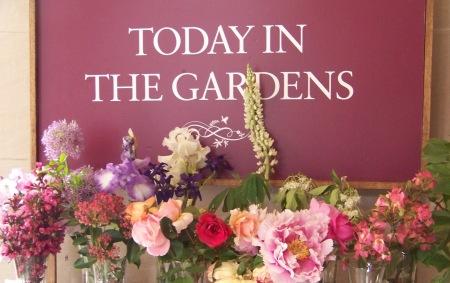 Today in the Garden sign best