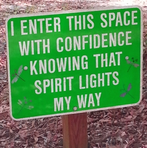 I enter this space w_confidence