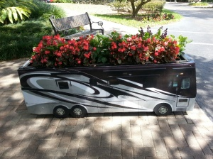 Small Winnebago planter
